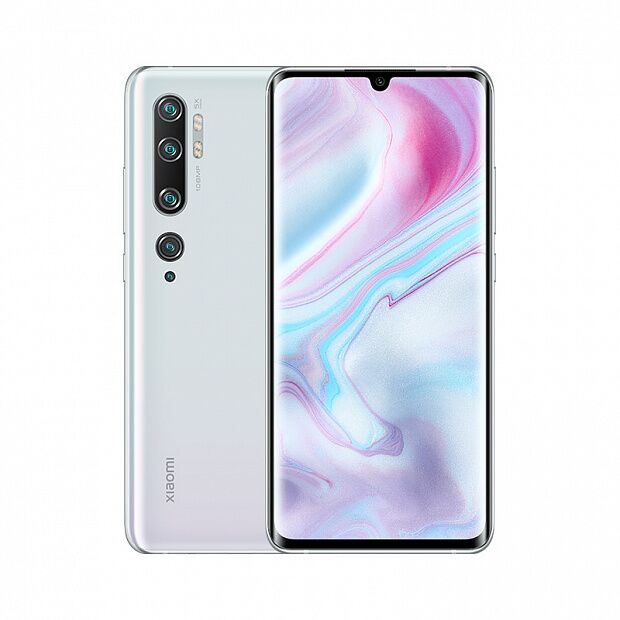 Смартфон Xiaomi Mi Note 10 256GB/8GB (White/Белый)
