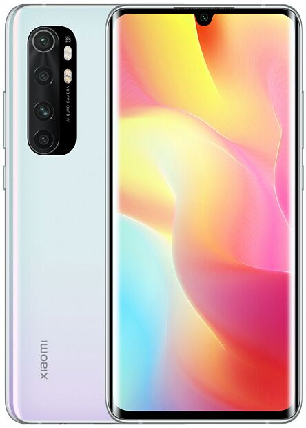Смартфон Xiaomi Mi Note 10 Lite 6GB/128GB (White/Белый)