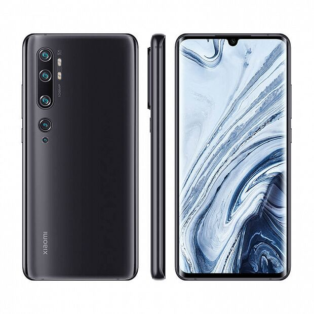 Смартфон Xiaomi Mi Note 10 Pro 128GB/6GB (Black/Черный)