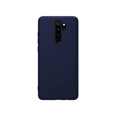 Чехол для Xiaomi Redmi Note 8 Pro Nillkin Rubber Wrapped Protective Case (Blue/Синий)